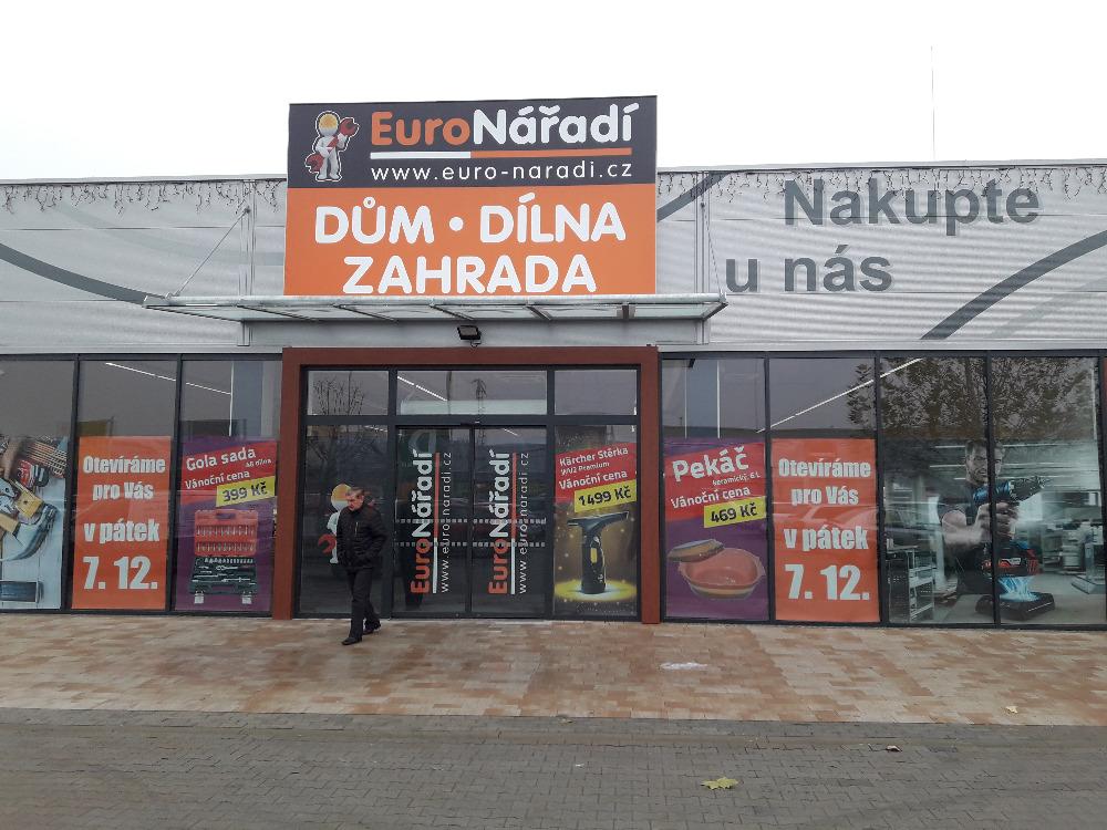 Nově otevřená prodejna Euronářadí