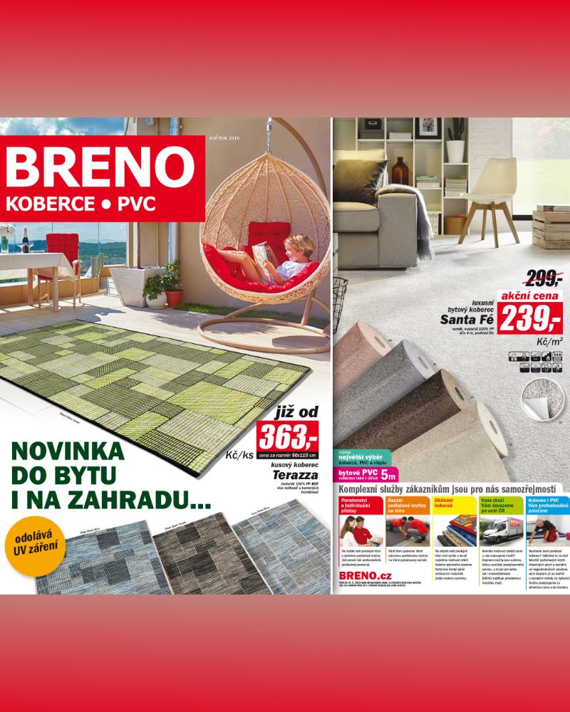 Květen 2019 Koberce Breno